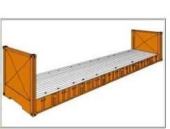izgled flat rack sklopivi kontejner
