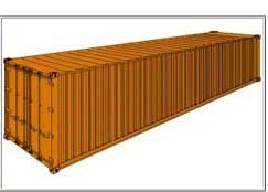 izgled standardnog kontejnera
