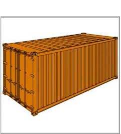 izgled reefer kontejnera kontejner hladnjača