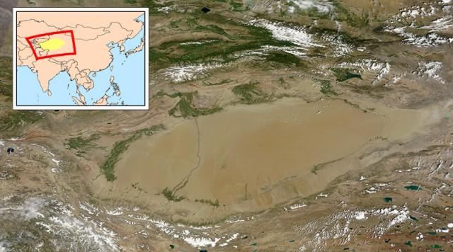 Tarimski basen - okean u pustinji